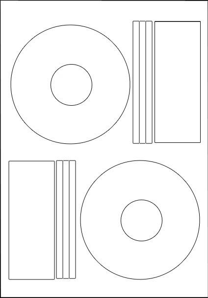 100 hovat cd dvd labels matt offset style ebay